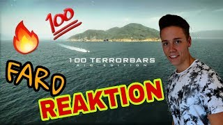 FARD - 100 TERRORBARS (official Video) 🔥 Reaktion
