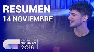 Resumen diario OT 2018 | 14 NOVIEMBRE