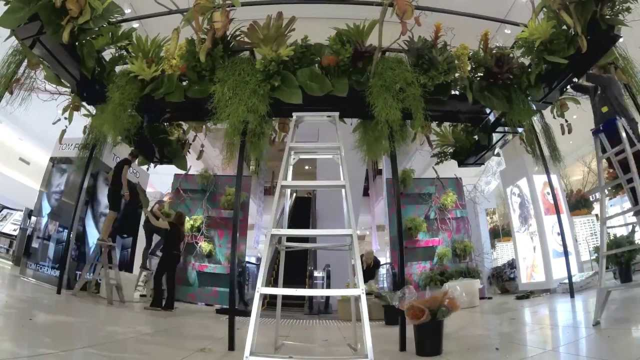 The David Jones Flower Show 2013 The Enchanted Florence Youtube