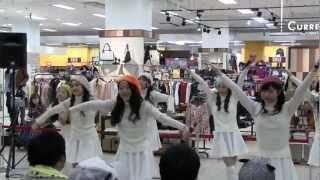 【2013.02.17】 イオン東根で行われたみちのく仙台ORI姫隊のインストア...