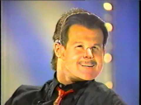 JIM McMAHON wears a DITKA mask-1988 TOM DREESEN show