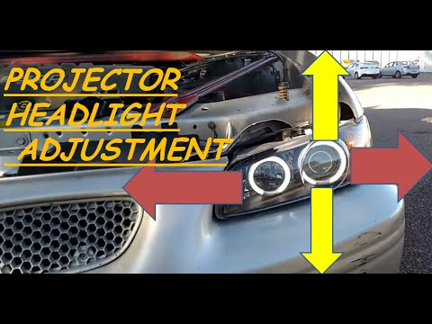 Adjusting Spyder Ccfl Halo Headlights Youtube