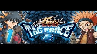 Let's Play! Yu-Gi-Oh 5Ds Tag Force 5! Intro time! (1)