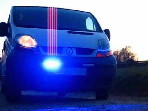 pace car stroboscope feux d 39 intervention driveback 2 led securite auto moto camion 12v 24v youtube. Black Bedroom Furniture Sets. Home Design Ideas