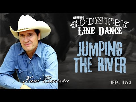 Como bailar JUMPING THE RIVER - 48 tiempos Country Line Dance Clase y Baile