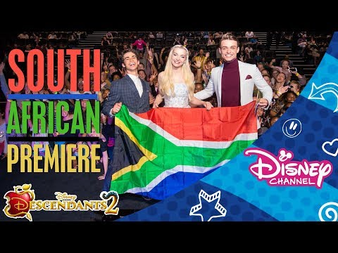 Descendants 2 | Premiere | South Africa Tour 🇿🇦 | Official Disney Channel Africa