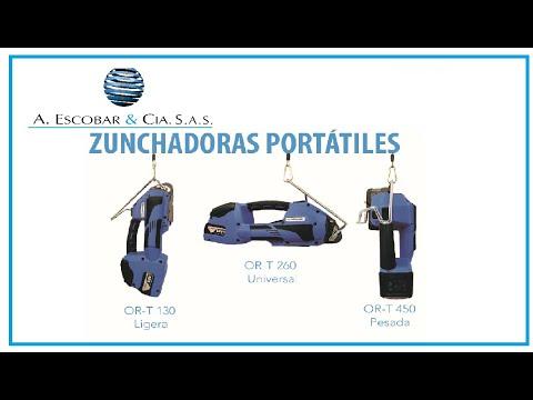 Zunchadora Portátil OR T 130 OR T 260 OR T 450