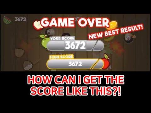 [FRUIT GOGO GAME TIP] Can I Get 3,000 Score?!