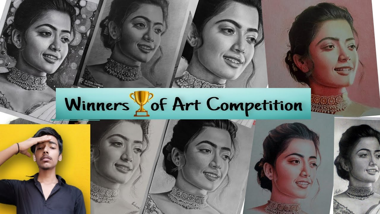 Winners 🏆 of this Art Competition