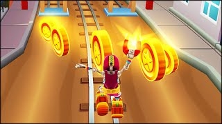 Tuesday run with Manny (Luchador Outfit) - Subway Surfers: Seattle