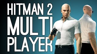 Hitman 2 Multiplayer Gameplay: MIKE VS ANDY! in Hitman 2 Ghost Mode Gameplay