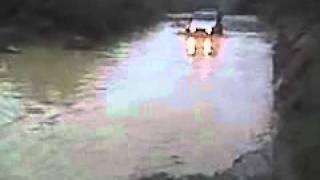 water crossing Holy Jims, OC