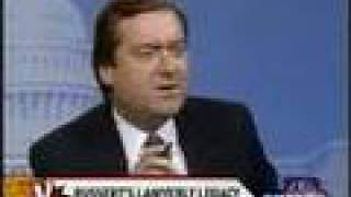 TIM RUSSERT the lawyer HIS BEST CROSS-EXAMINATIONS