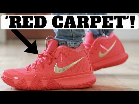 "UNBOXING Nike Kyrie 4 ""RED CARPET"" Limited Release!"