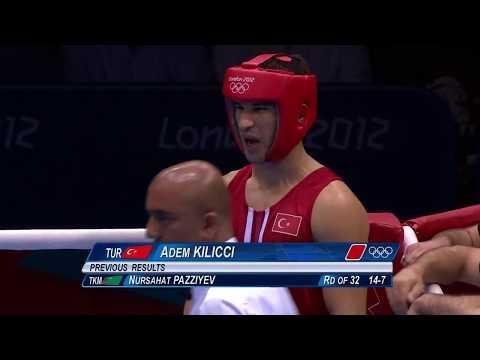 Adem Kılıççı 2012 Londra Olimpiyatları Sırp Boksör Ile Olan Maçı