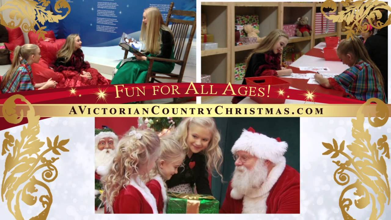victorian country christmas festival 2015 commercial youtube