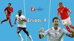 EM 2016 - Gruppe A - Analyse & Tipps - Frankreich, Schweiz, Rumänien, Albanien
