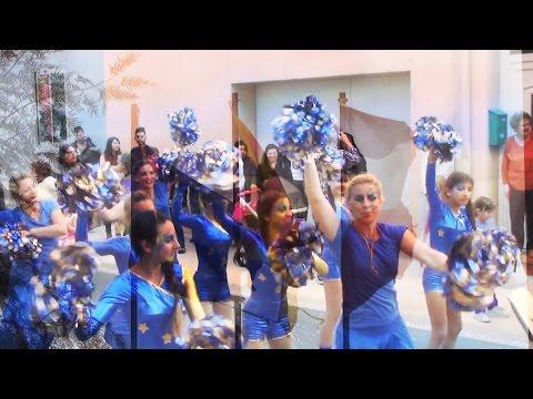 Carnaval  Elna Elne Pirineos Orientales  Languedoc Rosellón 2015