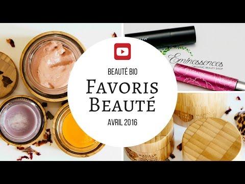 Favoris Beauté bio - Avril 2016