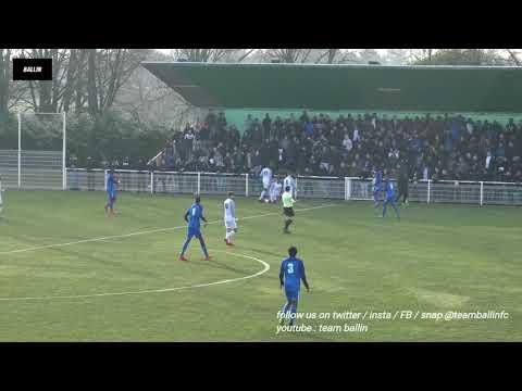 2018 01 14   U19 COUPE GAMBARDELLA   Massy vs Paris FC