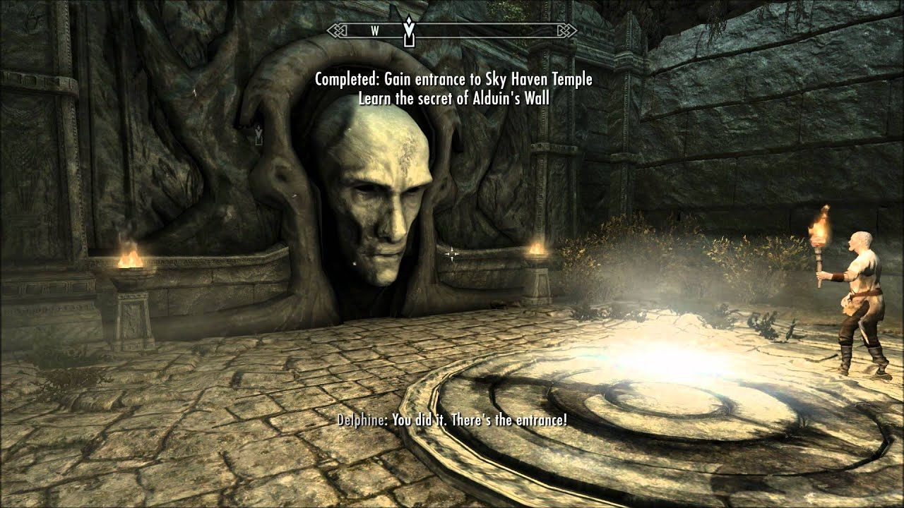 Let S Play Skyrim Finding Sky Haven Temple Main Quest