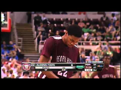 2012 IHSA Boys Class 3A Championship - North Chicago vs Peoria
