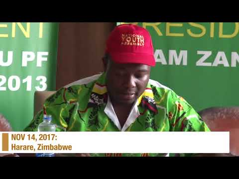 Timeline of Mnangagwa's rise to power