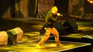 """""""Tears of a Clown"""" Iron Maiden@Madison Square Garden New York 3/30/16"""