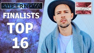 SUPERNOVA 2019 | MY TOP 16 | SEMI FINALISTS | EUROVISION 2019 LATVIA