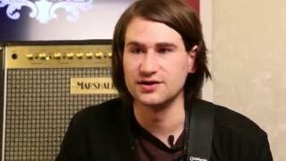 Chris Miller of YMA6 and his Ibanez CMM2 signature Guitar
