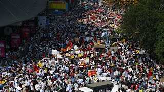 Myanmar grieves as funeral rites held for young anti-coup protester