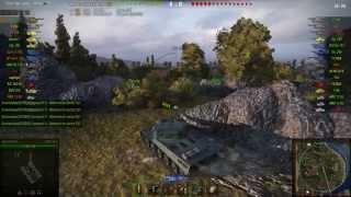 AMX 50 B gameplay - Ace Tanker - World of Tanks - 9.9 XVM mod pack