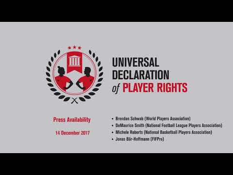 Universal Declaration of Player Rights - Press availability session