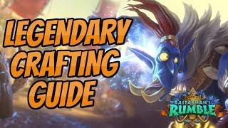 Legendary Crafting Guide   Rastakhan's Rumble   Hearthstone