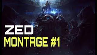 Zed Montage 18 - Best Zed Plays S8 | League Of Legends