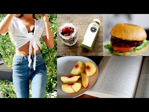 Healthy What I Eat In A Day 2018!
