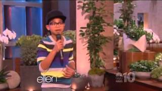 Cam Anthony, 12-Year-Old With 'Golden Voice,' Performs For Ellen DeGeneres