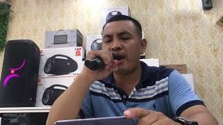 Mic hát Karaoke K18V cùng loa Partybox 300 JBL
