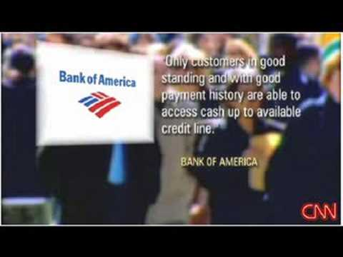 Bank of America - credit card pushers