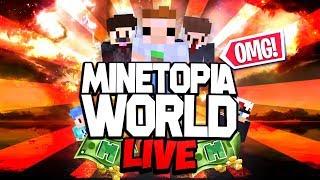 ONTSTAAT ER EEN OORLOG?! MINETOPIA WORLD LIVE!