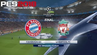 Pes 2018 (pc) bayern munich v liverpool | 2018 uefa champions league final | 26/5/2018 | 1080p 60fps
