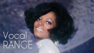 Diana Ross - Full Vocal Range in One Minute (C3-C#6)