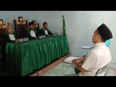 Simulasi Di Pengadilan Agama. UIM pamekasan