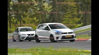 LEON CUPRA 290 CHASING VERY FAST POLO WRC // NURBURGRING NORDSCHLEIFE