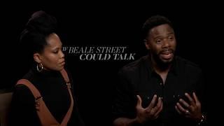 IF BEALE STREET COULD TALK interviews - Regina King, Colman Domingo, James, Layne, Jenkins