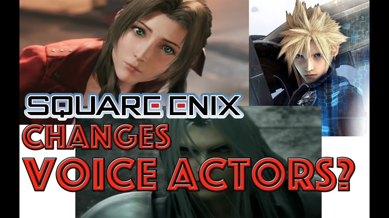 Voice Compare Final Fantasy 7 Remake Advent Children English