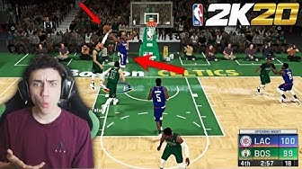 NBA 2K20 Play Now Online Gameplay VS ZackTTG! INSANE POSTERIZING DUNKS!