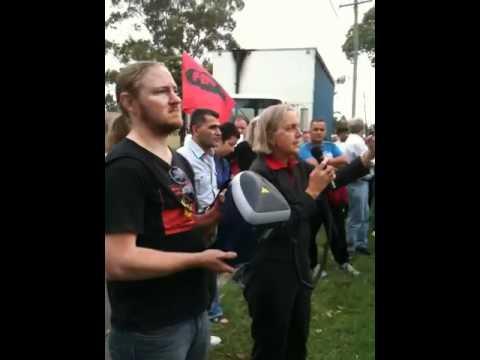 Demonstration At Villawood Detention Centre