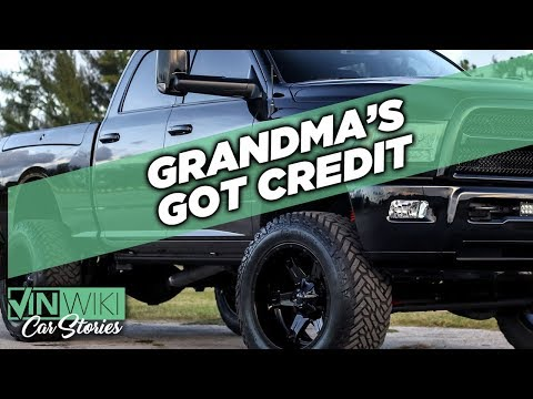 Financing a jacked up truck for Grandma at the nursing home