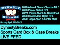 DYNASTY BREAKS - Sports Card Box and Case Group Breaks